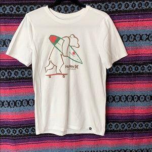 Oversized white t shirt